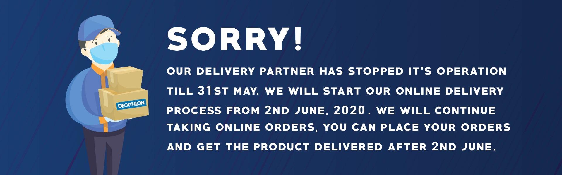 Delivery at halt